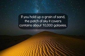 One Big Grain of Sand