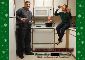 When Your Family Bothers You Constantly to Send Out Christmas Cards, This is What You Do...