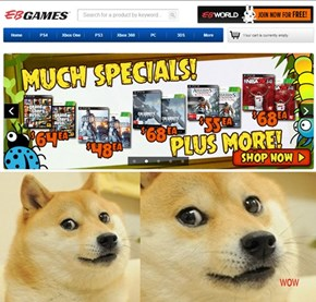 Wow such savings much purchase