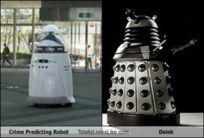 Crime Predicting Robot Totally Looks Like Dalek