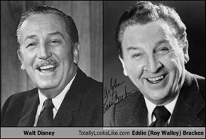 Walt Disney Totally Looks Like Eddie Bracken