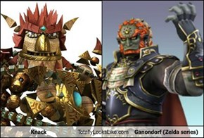 Knack  Totally Looks Like Ganondorf