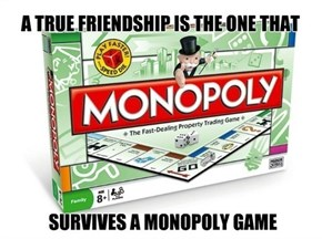 Good Luck Even Completing One Game of Monopoly