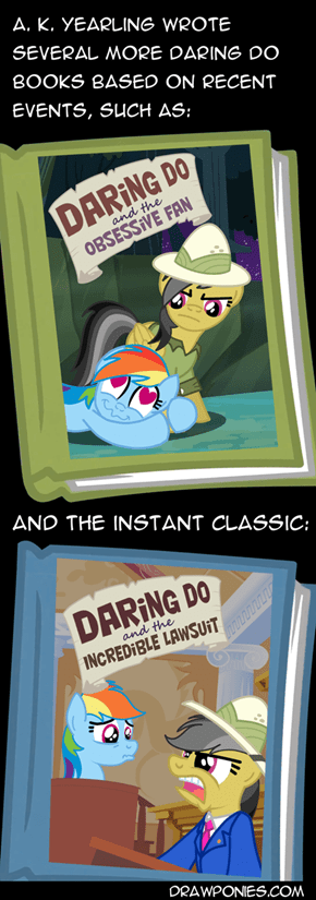 Daring Do's Actual Adventures