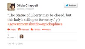 #governmentshutdownpickuplines