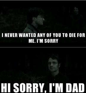 James Potter Is As Bad As Rick Grimes