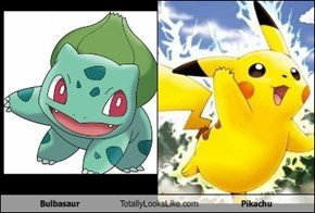 Bulbasaur Totally Looks Like Pikachu