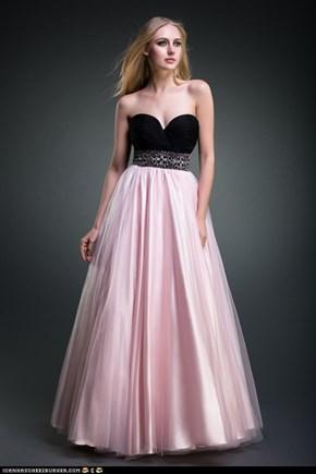 pink abendkleider 2013