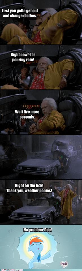 No More Rain in Five Seconds Flat