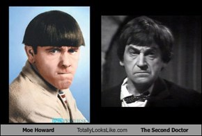 Moe Howard Totally Looks Like The Second Doctor
