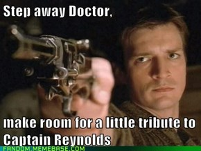 Step away Doctor!