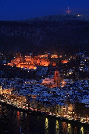 A Quiet Night in Heidelberg, Germany