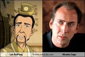 Lao BeiFong Totally Looks Like Nicolas Cage