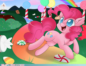 Pinkie's dream come true