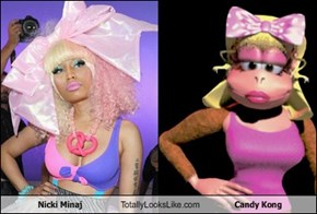 Nicki Minaj Totally Looks Like Candy Kong
