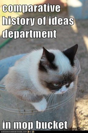 comparative history of ideas department  in mop bucket