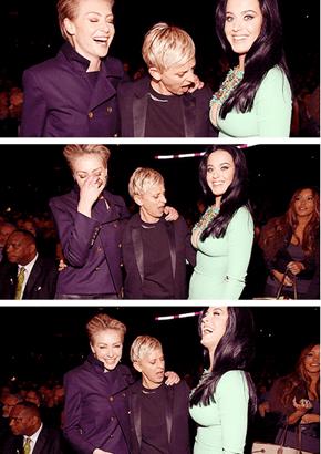 Ellen be all Like Gaht DAMN!