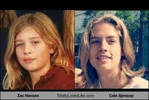 Zac Hanson Totally Looks Like Cole Sprouse