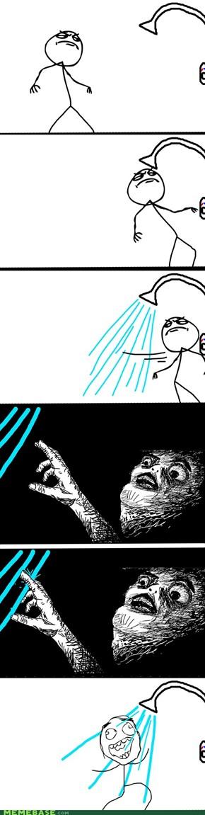 When Taking a Shower...