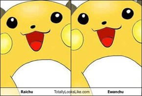 Raichu Totally Looks Like Ewanchu