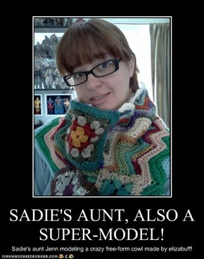 SADIE'S AUNT, ALSO A SUPER-MODEL!