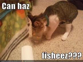 Can haz  fisheez???