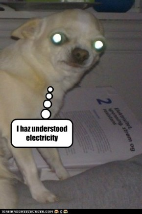 I haz understood electricity