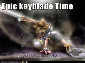Epic keyblade Time