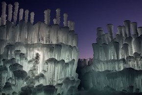 Ice Castles are the New Sand Castles