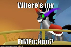 Where's my  FiMFiction?