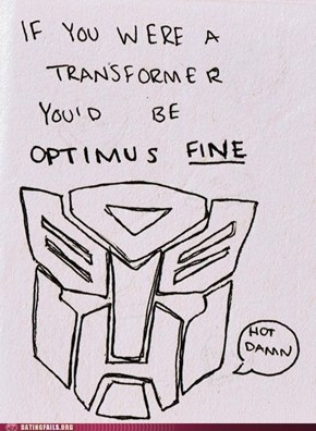 Transformers Loving This Valentine's Day