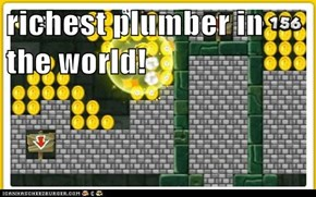 richest plumber in the world!