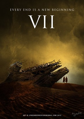 "This Fan-Made ""Star Wars Episode VII"" Poster Should Be the Real One"