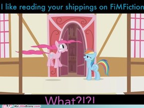 Pinkie Pie's shippings are the most... 'detailed'.
