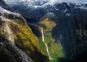 Cascade Falls, by Anna Trandeva