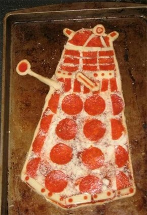 Dalek Pizza WIN
