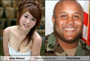 Asian Woman Totally Looks Like Chris Droner