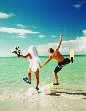 Super Minimal Wedding Attire