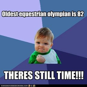 Oldest equestrian olympian is 82