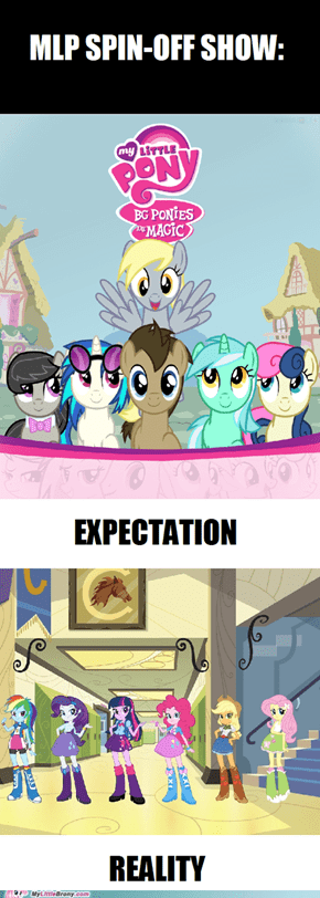 Rumours of an MLP Spinoff