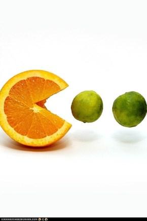 pac man: fruit edition!
