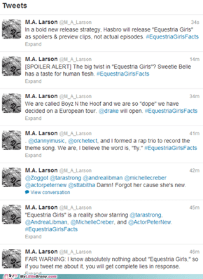 M.A. Larson (His Master of Arts is in Trolling)
