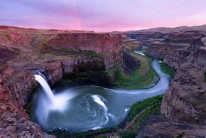 Palouse Falls, Guest Starring Rainbow