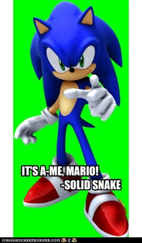 IT'S A-ME, MARIO!                                -SOLID SNAKE
