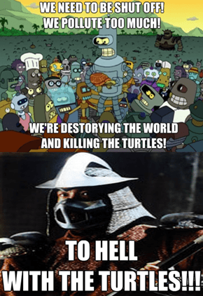 Screw the Turtles
