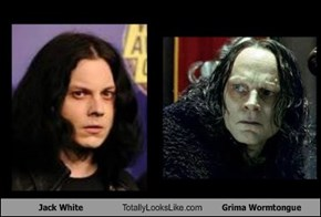 Jack White Totally Looks Like Grima Wormtongue