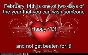 Happy VD everyone!