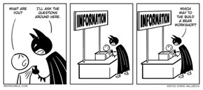 Batman Wants to Build a Teddy Bear, Dammit!