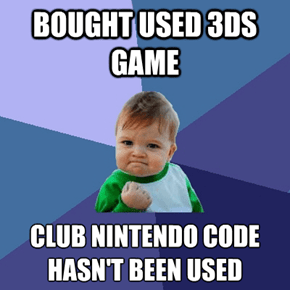 Plus Side of Used Nintendo Games