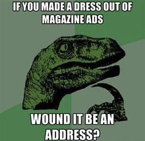 May I Borrow Your Address?